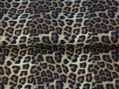 05m BW Leoprint Echtfelloptik kleines Muster