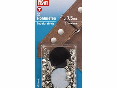 1Pck Prym Hohlnieten 75mm/ 3-4mm Höhe