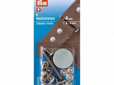 1Pck Prym Hohlnieten 9mm/6-9mm Höhe Inhalt