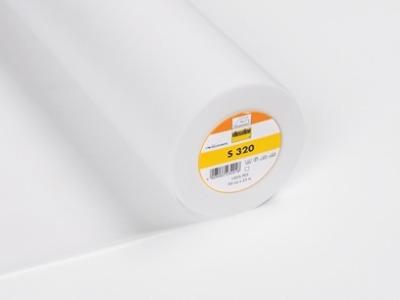 1m Leichte Einlage S320 Vlieseline weiß