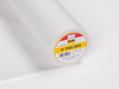 05m Bügeleinlage H250 Vlieseline weiß