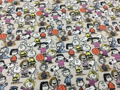 05m Jersey Snoopy Peanuts Bande beige