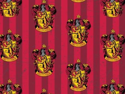 05m Baumwolle Harry Potter Gryffindor Wappen