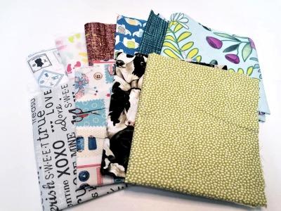 Angebot: 2m Restepaket Baumwolle Patchwork 10x02m