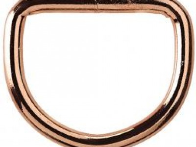 1Stk Halbrundring 30 mm roségold