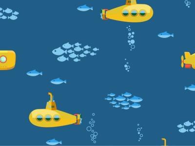 05m Jersey UBoot Submarine navy dunkelblau