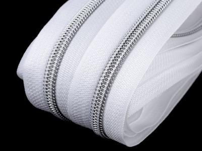 15m Metallic Reißverschluss Spirale Breite mm
