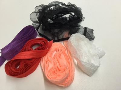 Restepaket elastische Bänder Spitzen Tüdelkram Inhalt