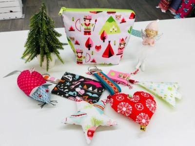 Kindernähkurs Weihnachtsgeschenke Mittwoch 0112 1530 Uhr