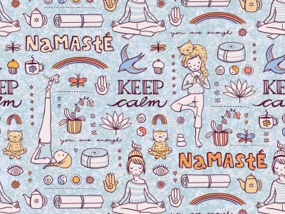 05m Jersey Yoga by susalabim hellblau
