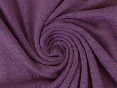 05m Jersey uni meliert lila Auch