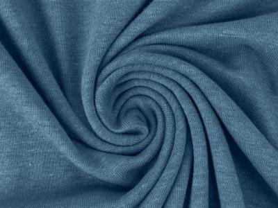 05m Jersey uni meliert blau Auch