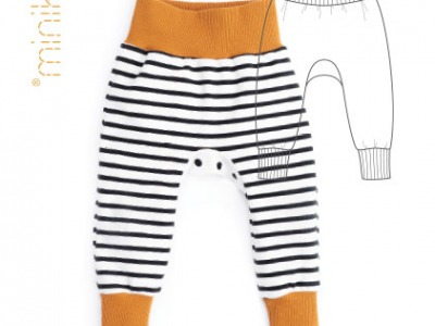 Schnittmuster Minikrea Babyhose Baby Pant Gr