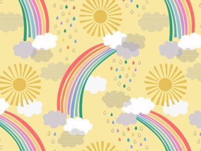 05m BW Bright rainbows on Regenbogen