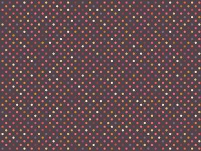 05m BW Dark Rainbow Dots Regenbogen