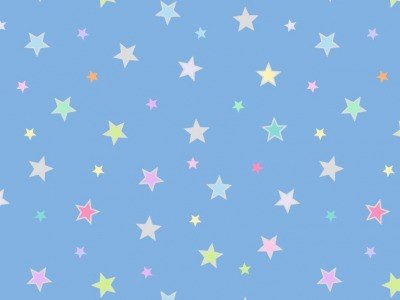 05m BW Pastel stars with silver