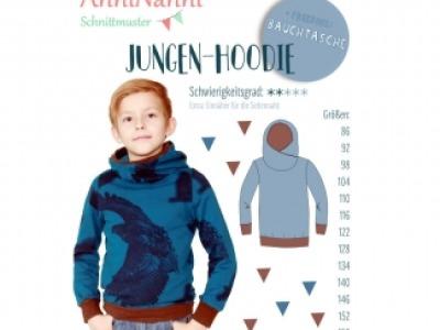 1Stk Jungen-Hoodie Papier Schnittmuster by anninanni