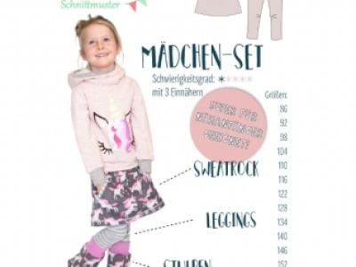 1Stk Mädchen-Set Papier Schnittmuster by anninanni