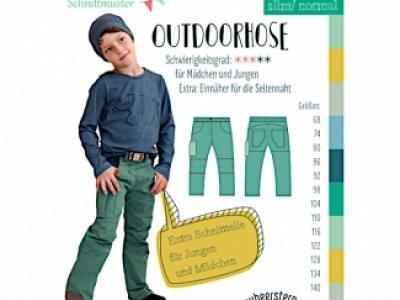 1Stk Outdoorhose Papier Schnittmuster by anninanni