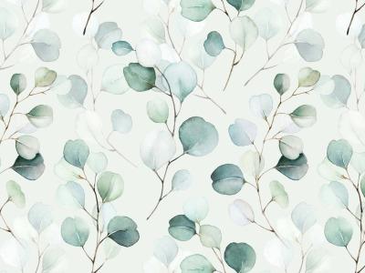 05m Viscose Jersey Digitaldruck Eucalyptus ecru