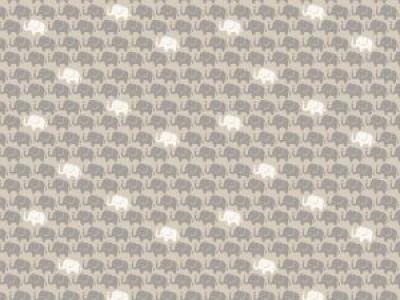 05m Baumwolle Mini Elefanten taupe weitere