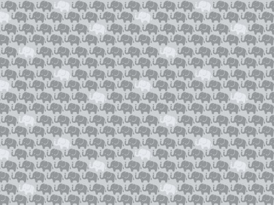 05m Baumwolle Mini Elefanten grau weitere