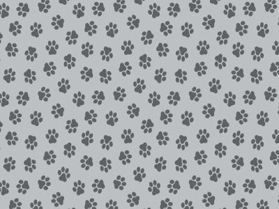 05m Baumwolle Pfoten Pfötchen grau weitere