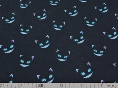 05m Jersey Katze grinsende Katze schwarz