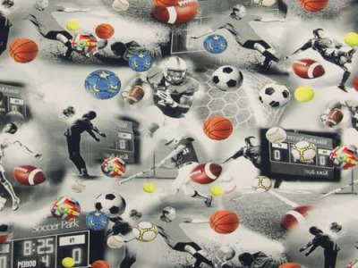 05m Jersey Ballsport Digitaldruck grau bunt