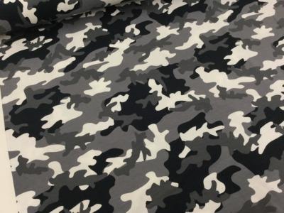 05m Jersey Camouflage Flecktarn schwarz grau