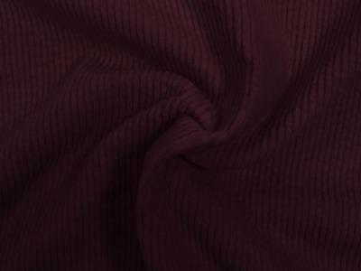 05m Breitcord Baumwolle bordeaux dunkelrot