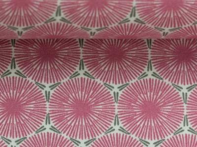 05m Baumwolle Axel Blume Ornament pink