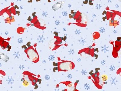 05m BW Tomtens Christmas Multi Tomten