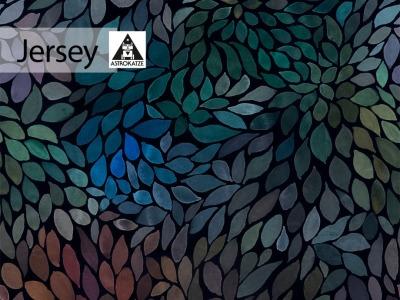 05m Jersey Color Leaves mini mystic