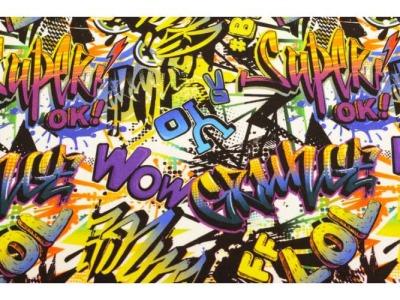 05m Sweat French Terry Graffiti bunt