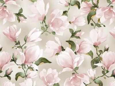 025m BW Michael Miller Magnolia Magnolia