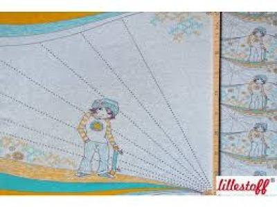 Panel Lillestoff Jersey Manga Boy by