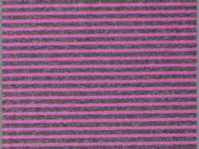 05m Jersey Ringel Streifen meliert anthrazit