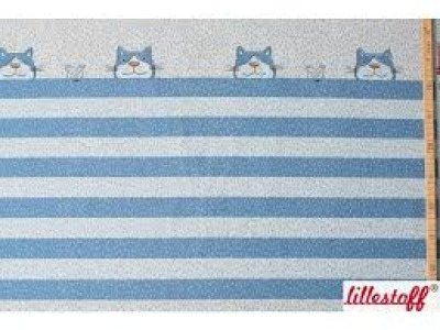 Panel Lillestoff Jersey Tigerkatze by susalabim