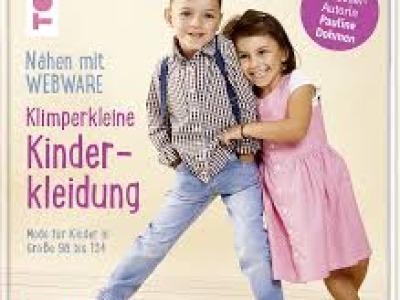 1Buch Nähen mit Webware Kinderkleidung Klimperklein