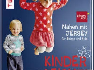 1Buch Nähen mit Jersey für Babys