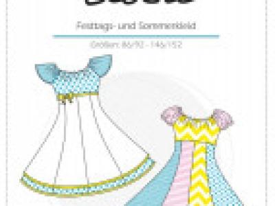 1Stk Elodie Festtags- und Sommerkleid Papier