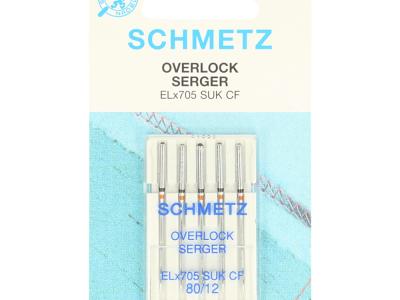 1Pck Overlock-Nadeln für die Nähmaschine von