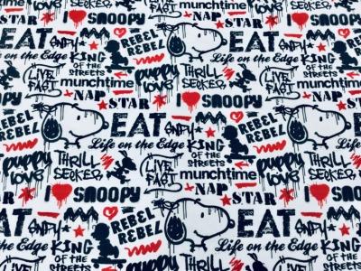 05m Jersey Snoopy Graffiti Star Peanuts