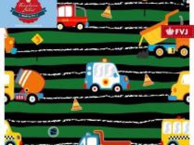 05m Jersey Fahrzeuge auf der Straße