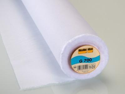 05m G 700 Gewebeeinlage Vlieseline weiß