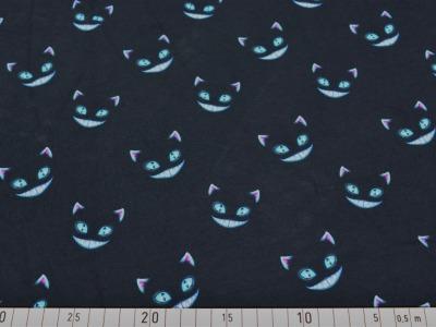 05m Jersey grinsende Katze Gesicht Katze