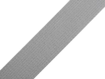 1m Gurtband Baumwolle 3cm breit grau