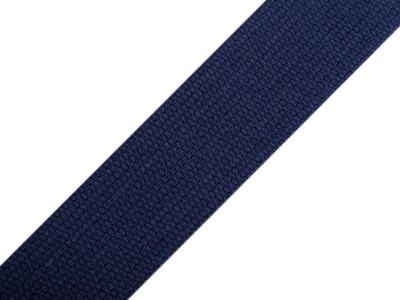 1m Gurtband Baumwolle 3cm breit navy