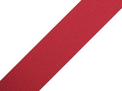 1m Gurtband Baumwolle 3cm breit rot